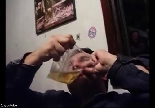 中国のビールの飲み方12