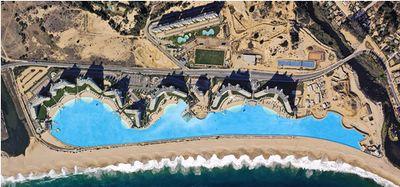 ギネス記録の世界最大のリゾートプールの大きさ02