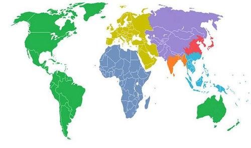 世界地図いろいろ01