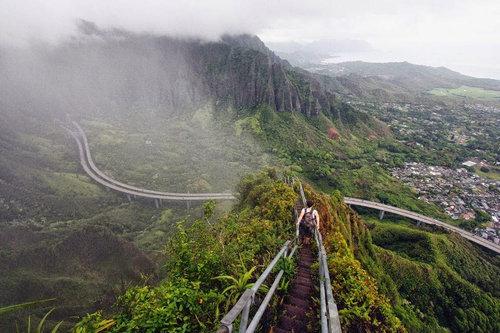 ハワイの天国への階段04