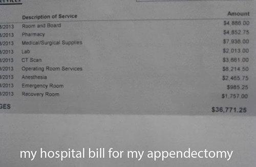 アメリカの医療費09