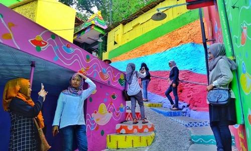 インドネシアのスラム08