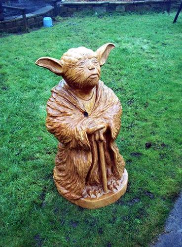 チェーンソー彫刻11