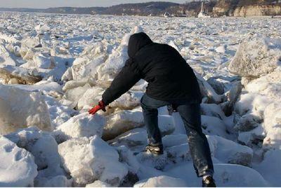 凍りついたミシシッピ川04