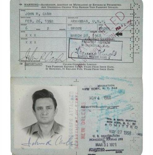 歴史上の有名人のパスポート15
