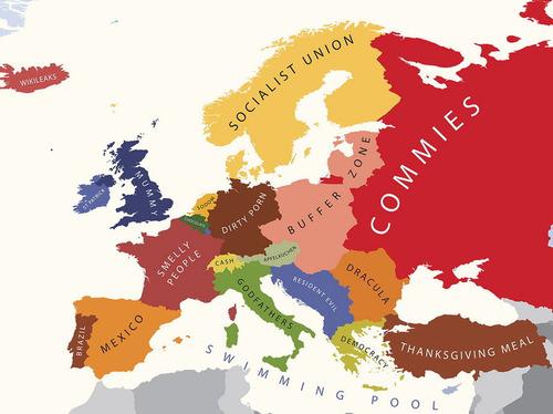 アメリカ人にはこう見える世界地図02