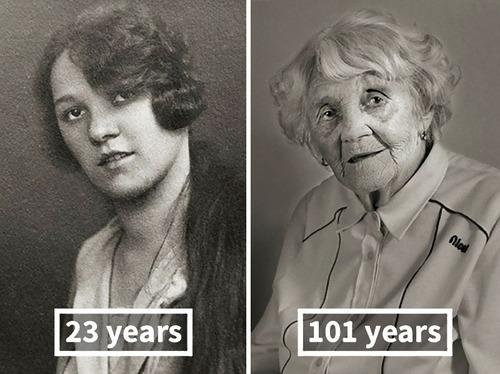 100歳越えの人の若い頃03