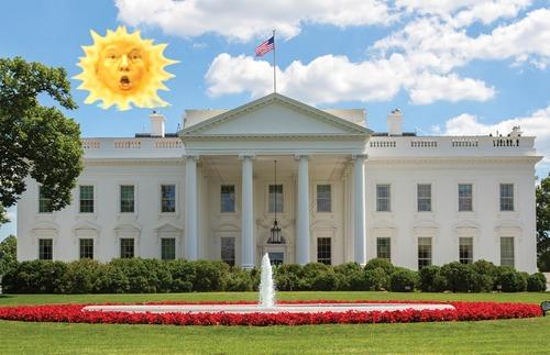 「もうホワイトハウスを変えちまえ!」10