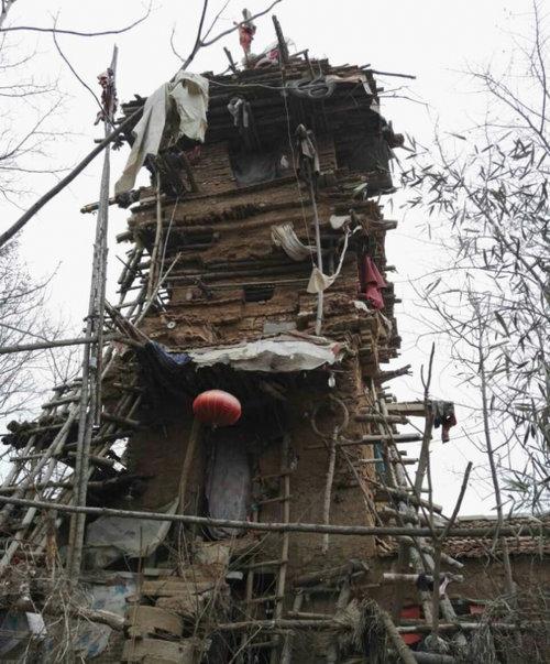 中国の7階建ての建物03