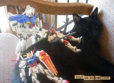 埋没する猫たち10