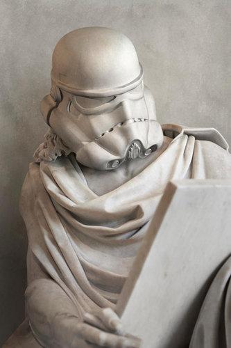 スターウォーズをギリシャ彫刻風に04