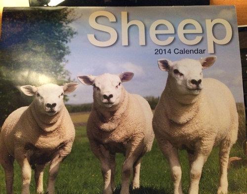 スコットランドにいる叔父が送ってきたカレンダー02