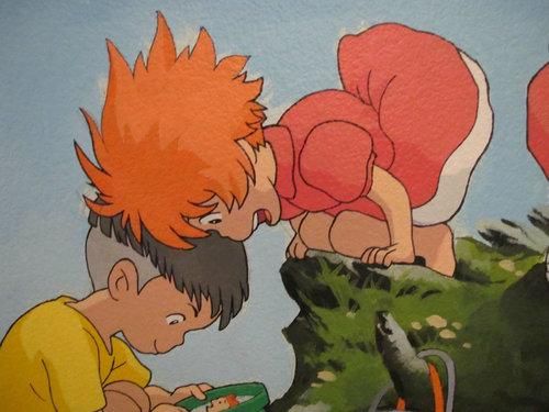 子供部屋に描いたジブリ07