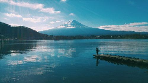 外国人「日本で富士山撮ってきた」04
