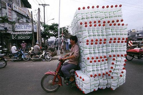 バイクで物を運ぶ限界16
