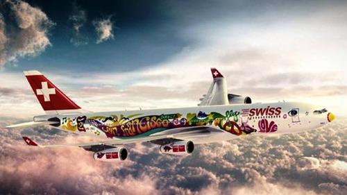ペイント航空機21