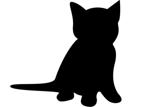 鼻の見えない猫