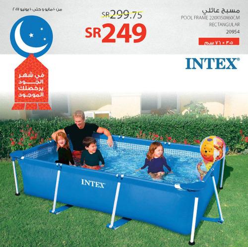 サウジアラビアのプールの広告写真01