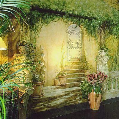 壁の絵が立体的に見えるアート09