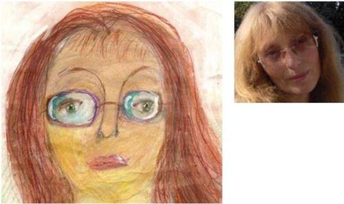 お母さんの似顔絵26