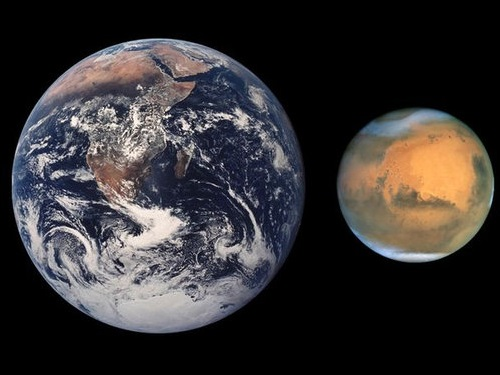 火星と地球