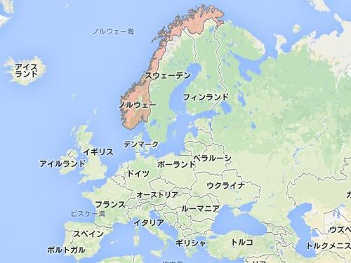 ノルウェーの「プレーケストーレン」00