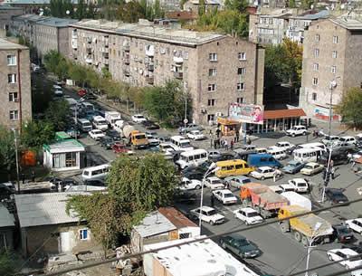 世界各国の渋滞-アルメニア