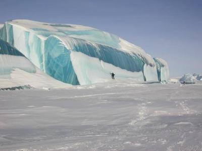 凍った波03