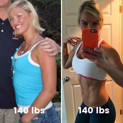体型は体重じゃないことがよくわかる比較