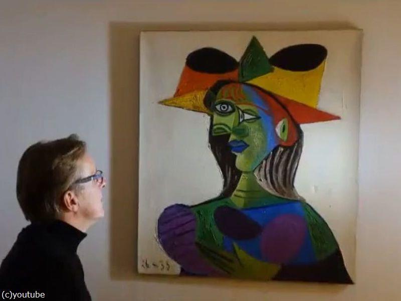 美術品の探偵がピカソの絵画を20年ぶりに発見01