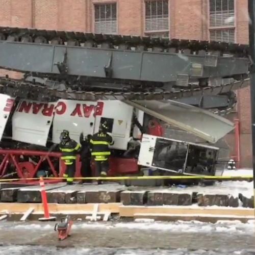 ニューヨークのクレーン転倒事故06