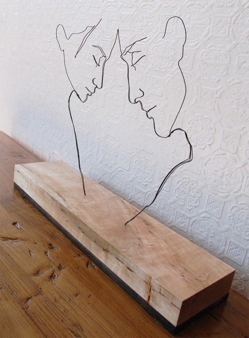針金アート02