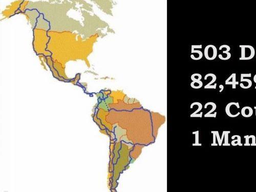 南北アメリカ大陸をバイクで走る01