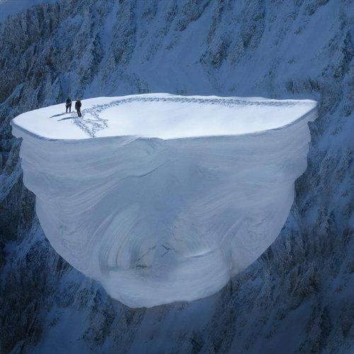 雪山の写真02