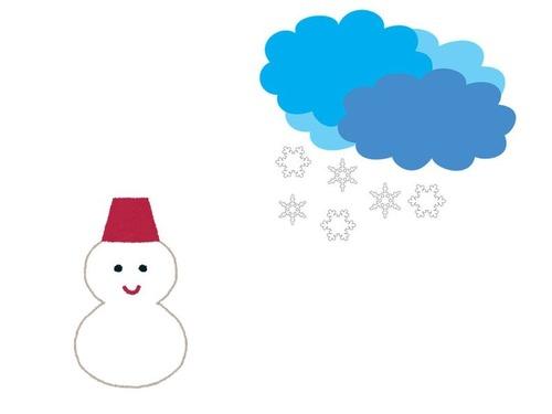 大吹雪のあとの近所の家00