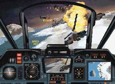 1994: Comanche Maximum Overkill mit Voxel-Grafik (PC)