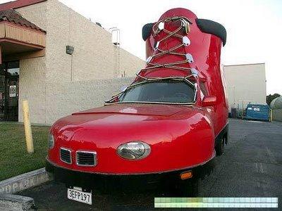 靴の形をした車12