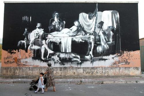 ロンドンのストリートアート03