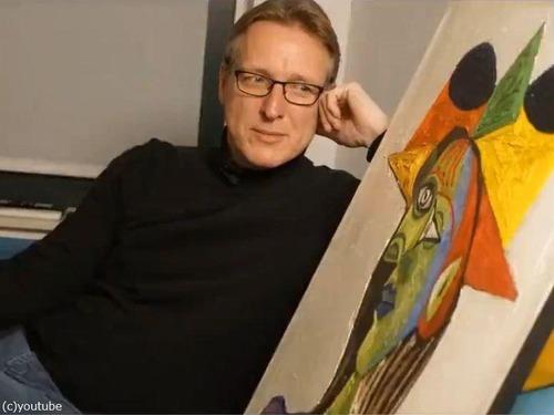 美術品の探偵がピカソの絵画を20年ぶりに発見00
