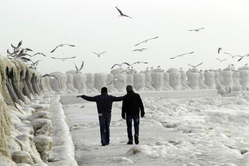 ヨーロッパの大寒波10