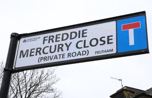ロンドン近郊に「フレディ・マーキュリー通り」 02