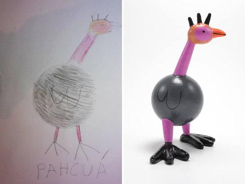 子供の絵を3Dプリンターで再現11