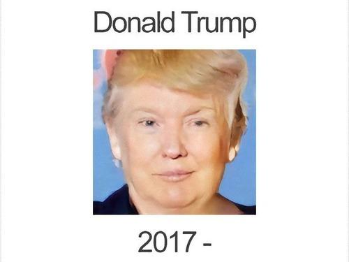 大統領を女性化00
