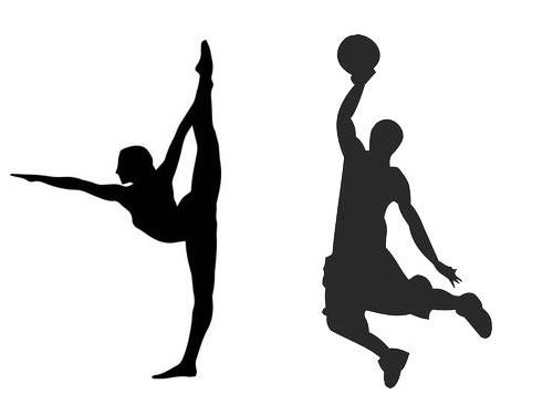 体操とバスケの選手00