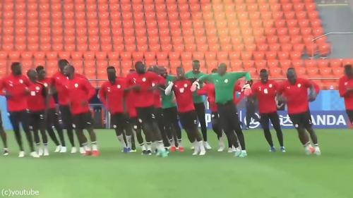セネガルのトレーニング01