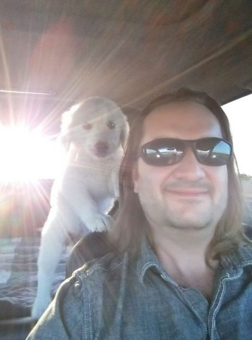 愛犬と初めて出会った日14