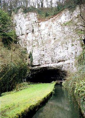 ウーキー・ホール洞窟01