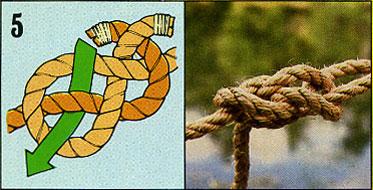 ロープの結び方05