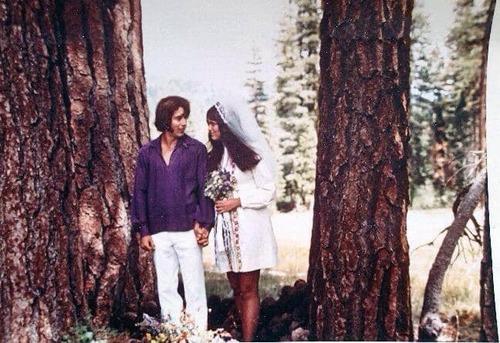 1960年の母親のウェディングドレスを借りた05