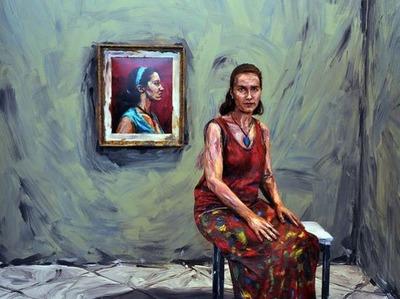 生身の絵画10